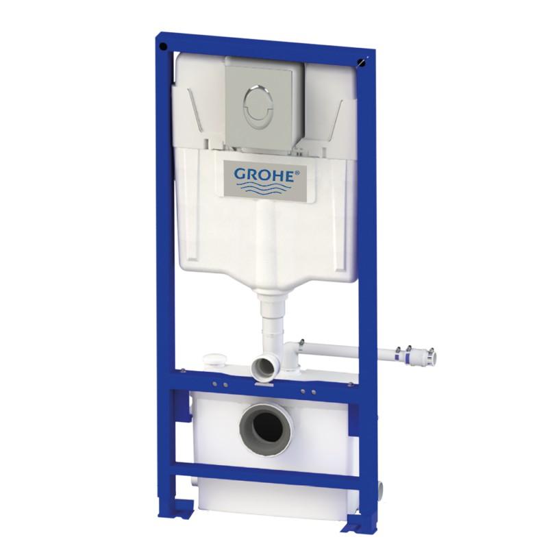 Bastidor Grohe con cisterna y triturador para cuarto de ...